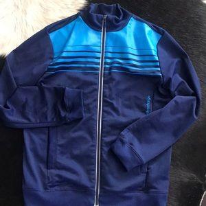 Unisex 2 tone adidas jacket size 9/10 Small